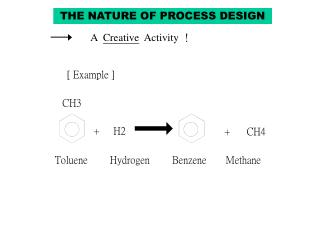 THE NATURE OF PROCESS DESIGN