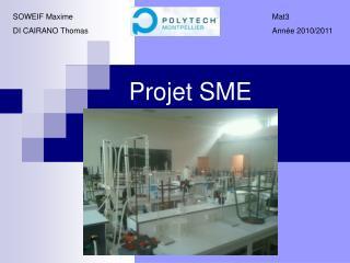 Projet SME