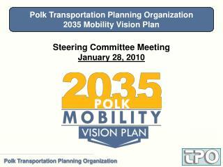 Steering Committee Meeting January 28, 2010