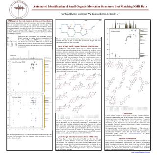 Automated Identification of Small Organic Molecular Structures Best Matching NMR Data