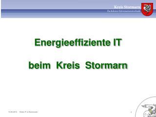 Energieeffiziente IT  beim  Kreis  Stormarn