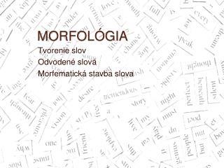 MORFOL GIA