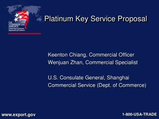 Platinum Key Service Proposal