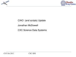 CUC Oct 2012                                   CXC-SDS