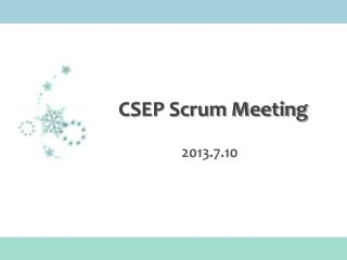 CSEP Scrum Meeting