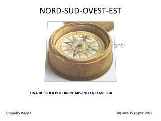 NORD-SUD-OVEST-EST