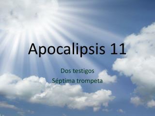 Apocalipsis  11