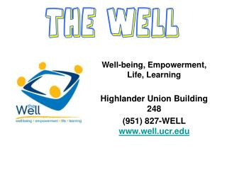 Well-being, Empowerment, Life, Learning Highlander Union Building 248