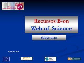 Recursos B-on Web of Science