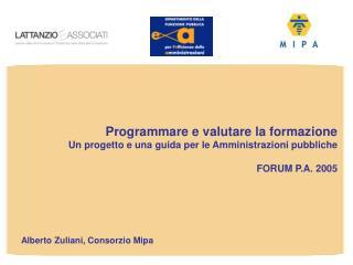 Alberto Zuliani, Consorzio Mipa