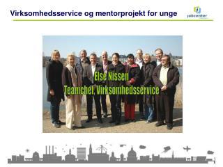 Virksomhedsservice og mentorprojekt for unge