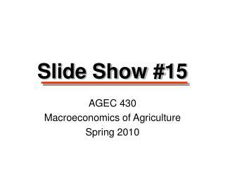 Slide Show #15