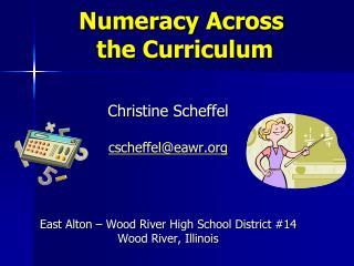 Numeracy Across  the Curriculum