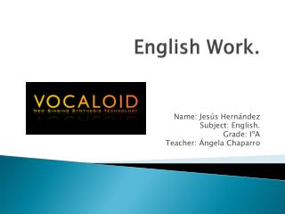 English Work .