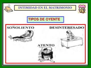 INTIMIDAD EN EL MATRIMONIO