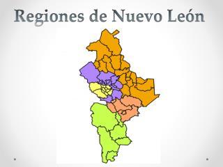 Regiones de Nuevo Le�n