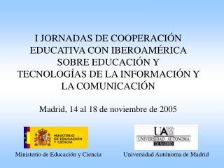 Ministerio de Educación y Ciencia