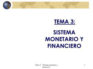 TEMA 3: