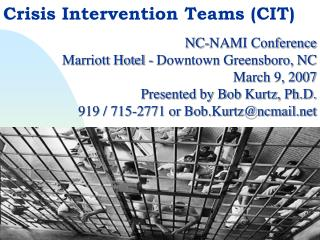 Crisis Intervention Teams (CIT)