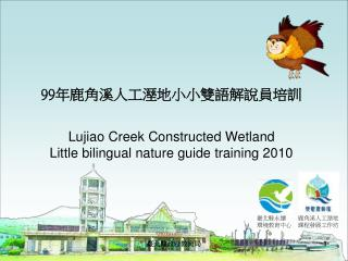 99 年鹿角溪人工溼地小小雙語解說員培訓 Lujiao Creek Constructed Wetland  Little bilingual nature guide training 2010