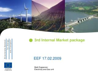 3rd Internal Market package