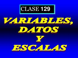 CLASE  129