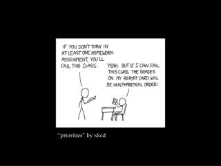 �priorities� by  xkcd