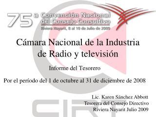 Cámara Nacional de la Industria de Radio y televisión