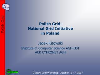 Polish Grid: National Grid Initiative  in Poland
