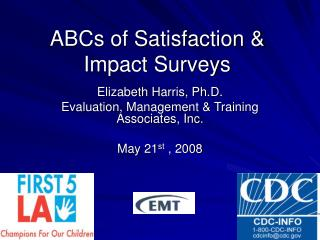 ABCs of Satisfaction & Impact Surveys