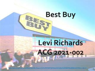 Best Buy Levi Richards ACG 2021-002
