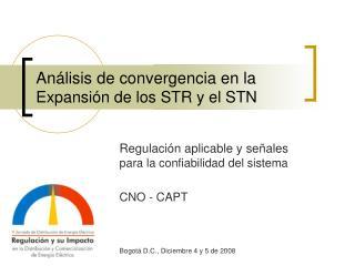 An lisis de convergencia en la Expansi n de los STR y el STN