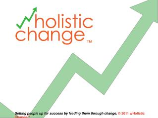 Leading a wHolistic  Change ™
