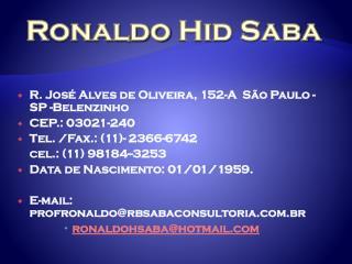 Ronaldo  Hid Saba