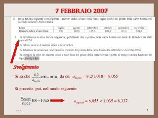 7 febbraio 2007