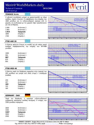 Merit@WorldMarkets.daily Technical Comment            20/ 11/2002          ank@merit.gr