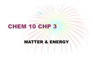 CHEM 10 CHP 3