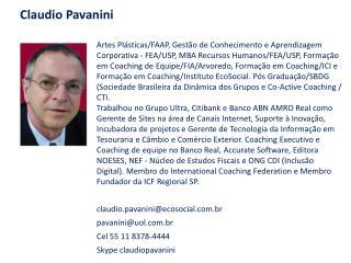 Claudio Pavanini