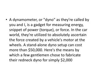 Find Dyno install services and get more accurate results