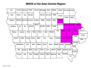MHDS of the East Central Region