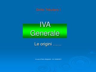 IVA Generale