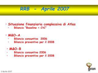 RRB  -  Aprile 2007
