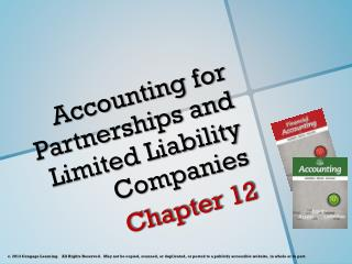 Accounting for Partnerships and Limited Liability Companies