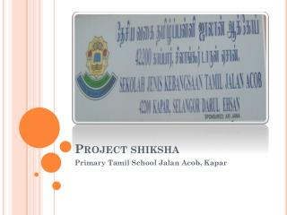 Project  shiksha