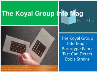 The Koyal Group Info Mag - Prototype Paper Test