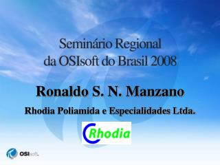 Ronaldo S. N. Manzano