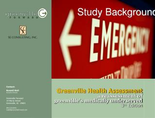Greenville Health Assessment a reassessment of  greenville's medically underserved 3 rd  Edition