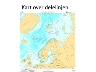 Kart over delelinjen