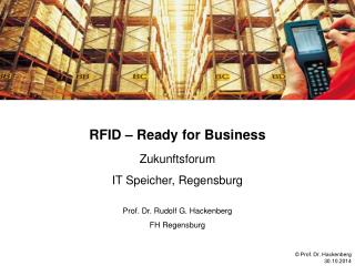 RFID � Ready for Business