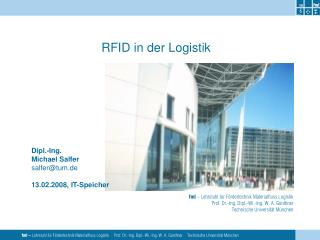 RFID in der Logistik